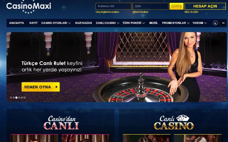 Casinomaxi İnceleme 2020